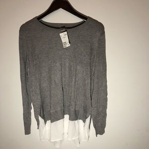 *NWT* H&M Double Layer Sweater